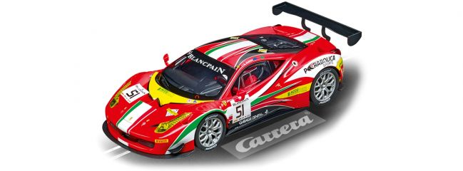 Carrera 23879 Digital 124 Ferrari 458 Italia GT3 | AF Corse, No.51 | Slot Car 1:24