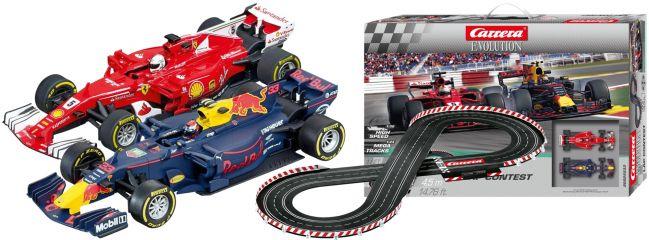 Carrera 25233 Evolution Lap Contest | Autorennbahn Grundpackung 1:32