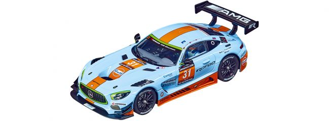 Carrera 27593 Evolution Mercedes-AMG GT3 | Rofgo, No.31, Silverstone 12h | Slot Car 1:32