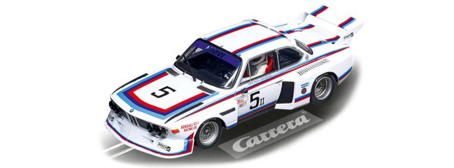 Carrera 27611 Evolution BMW 3.5 CSL | No.5, 6h Watkins Glen 79 | Slot Car 1:32