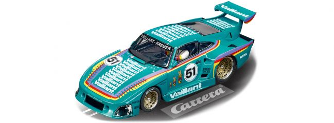 Carrera 27612 Evolution Porsche Kremer 935 K3 | Vaillant, No.51 | Slot Car 1:32