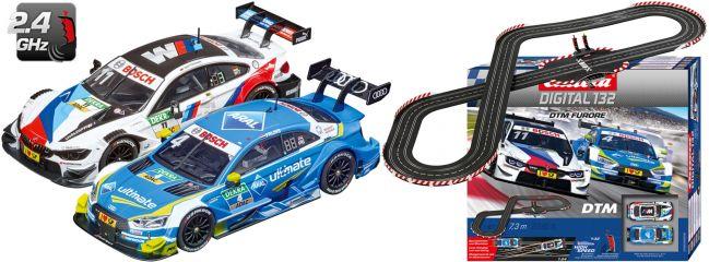 Carrera 30008 Digital 132 DTM Furore | WIRELESS+ | Autorennbahn Grundpackung 1:32