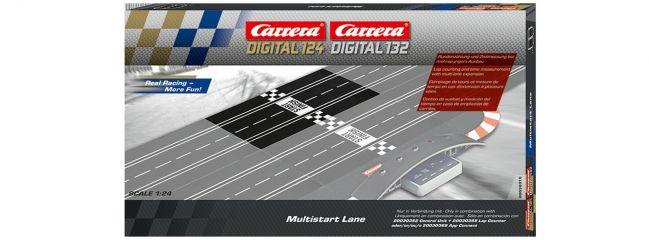 Carrera 30370 Digital 132/124 Multistart Lane | für mehrspurige Rundenzählg. | Slot Bahn Zubehör