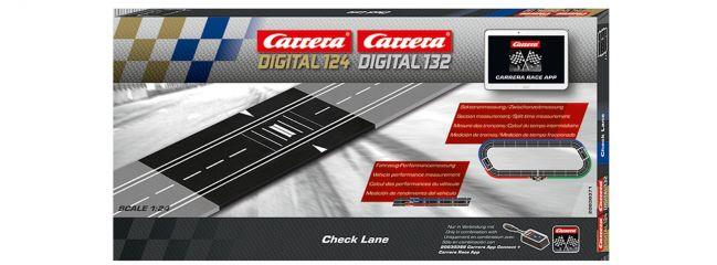 Carrera 30371 Digital 132/124 Check Lane | für Sektorenmessung | Slot-Bahn Zubehör