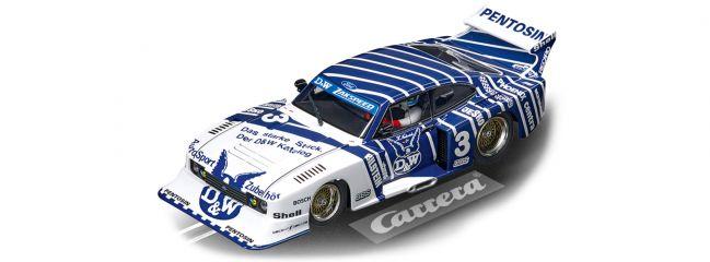 Carrera 30887 Digital 132 Ford Capri Zakspeed Turbo | DW Team, No.3 | Slot Car 1:32