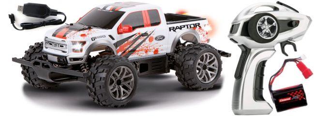Carrera 183017 Profi Ford F-150 Raptor RC-Truggy | 2.4Ghz | RTR | 4WD | 1:18
