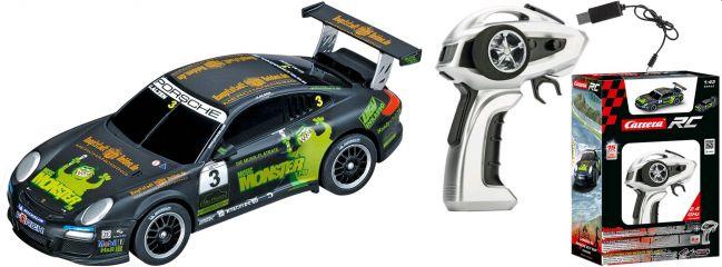 Carrera 43002 Porsche GT3 Cup Mini-RC-Auto | RTR | 2.4 GHz | 1:43