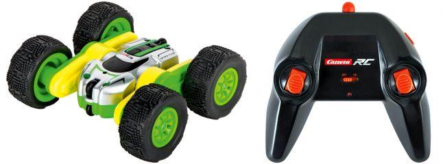 Carrera 402003 Mini Turnator, grün RC-Auto | 2.4 GHz | RTR | 1:40