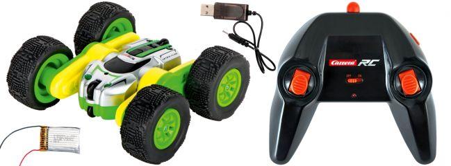Carrera 402003 Mini Turnator 360/Stunt, grün RC-Auto | 2.4 GHz | RTR | 1:40