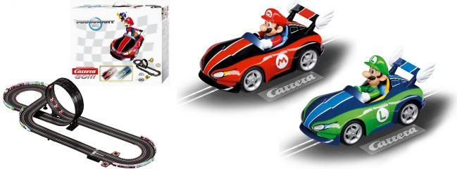 Carrera 62286 GO!!! Mario Kart WII Grundset Autorennbahn 1:43