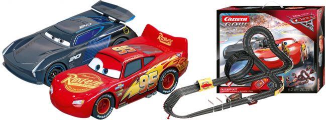 Carrera 62416 Go!!! Disney/Pixar Cars 3 - Fast Not Last | Autorennbahn Grundpackung 1:43