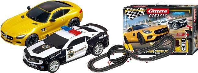 Carrera 62493 Go!!! Highway Action | Autorennbahn Grundpackung 1:43