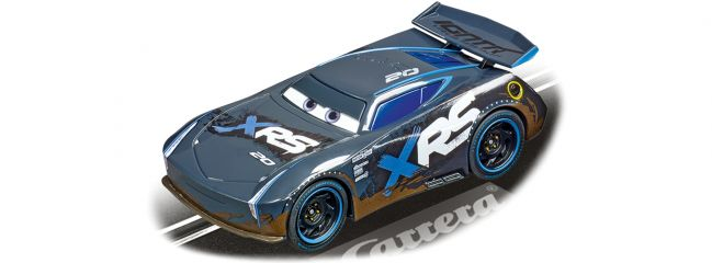 Carrera 64154 Go!!! Disney Pixar Cars - Jackson Storm | Mud Racers | Slot Cars 1:43