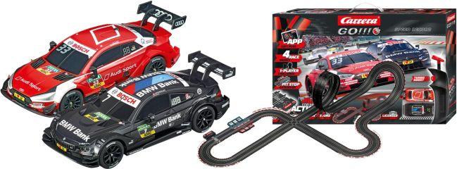 Carrera 66009 Go!!! Plus DTM Speed Record | Autorennbahn Grundpackung 1:43