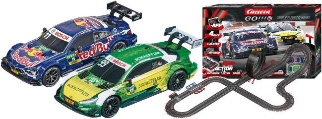 Carrera 66005 Go!!! Plus DTM Splash n dash | Autorennbahn Grundpackung 1:43
