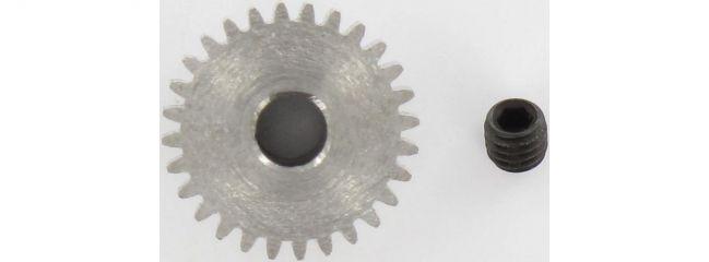 CARSON 500013418 Motorritzel 28 Z. Modul 0,4 Stahl