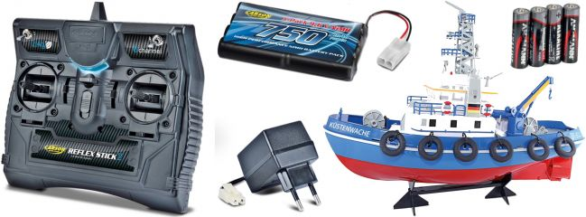 CARSON 500108020 Küstenwache 2.4GHz | RC Schiff Komplett-RTR 1:50 online kaufen