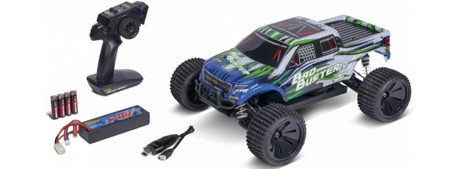 CARSON 500402129 Bad Buster 2.0 4WD X10   2.4GHz   RC Auto Komplett-RTR 1:10