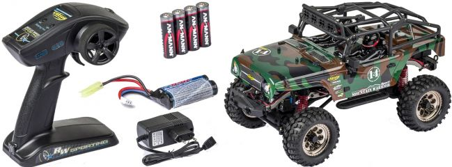 ausverkauft | CARSON 500404070 Mountain Warrior Sport 2.4GHz | RC Auto Komplett-RTR 1:12