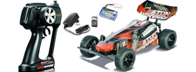 CARSON 500404082 FD Stunt Warrior 2.4GHz RTR | RC Auto Fertigmodell 1:10