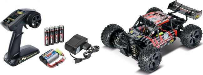 CARSON 500404091 X16 Mini Desert Warrior | 2.4GHz | RC Auto RTR 1:16