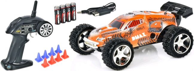 CARSON 500404099 Micro Warrior Truggy DMAX 2.4GHz | RC Auto RTR 1:32