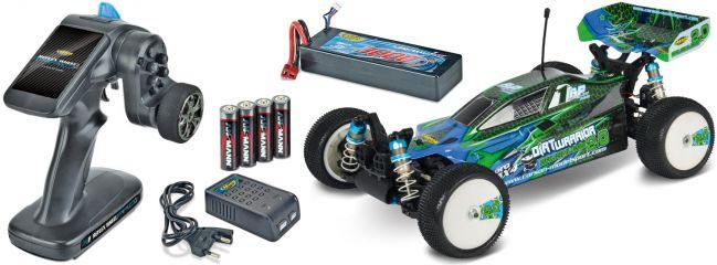 CARSON 500404106 Dirt Warrior 12T Brushless 2.0 2.4GHz | RC Auto Komplett-RTR 1:10