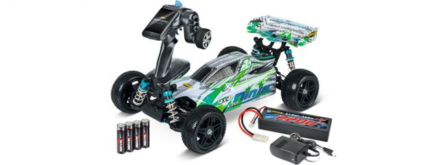 CARSON 500404132 X10 Ninja-Pro 2.4GHz | RC Auto RTR 1:10