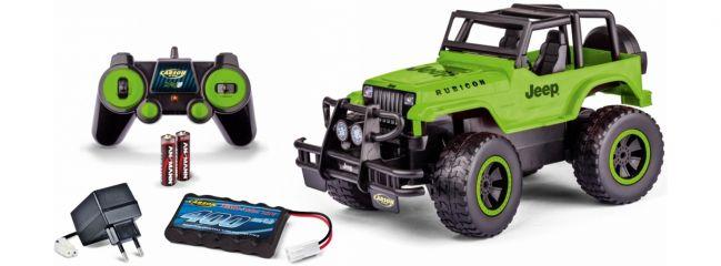 CARSON 500404147 Jeep Wrangler grün 2.4GHz   RC Auto Komplett-RTR 1:12