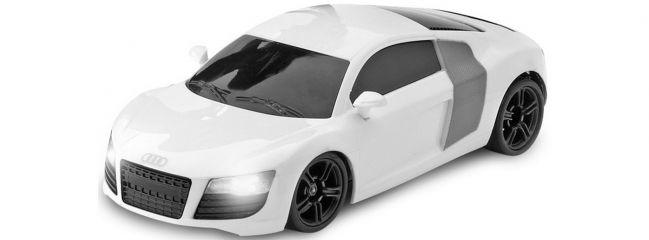 CARSON 500408082 Karosserie Audi R8 weiß mit Beleuchtung | X-24 Chassis
