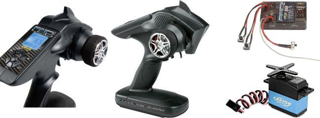 CARSON 500500039 FS 3K Reflex Wheel Pro II LCD MARINE Coltsteuerung