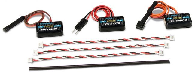 ausverkauft | CARSON 500503045 Telemetrie Sensor-Set Reflex Stick Ultimate Touch