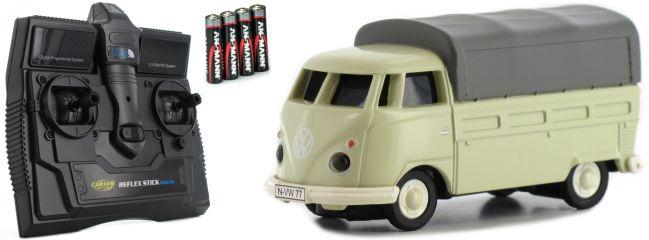 CARSON 500504117 VW T1 Bus Pritsche 2.4GHz | RC Auto 1:87 Spur H0