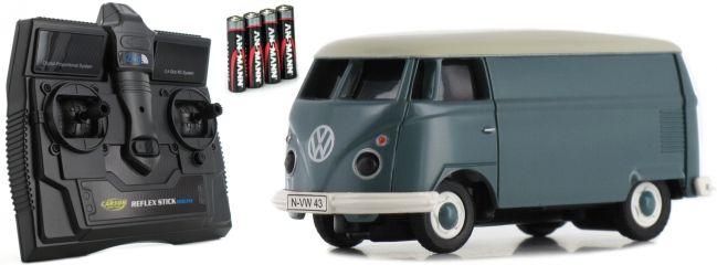 CARSON 500504118 VW T1 Bus Kastenwagen 2.4GHz | RC Auto 1:87 Spur H0