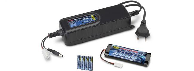 CARSON 500606046 Set mit Akkus + Ladegerät | passen für Reflex Coltsteuerung