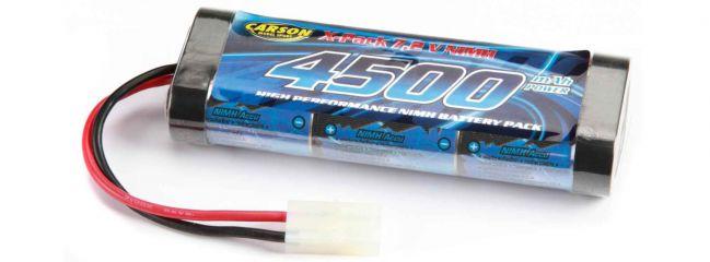 CARSON 500608077 Akku Racing Pack | NiMH | 7,2 Volt | 4500 mAh | TAM-Stecker