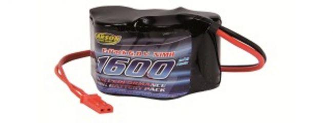 CARSON 500608104 Akku Pack Empfänger | 6 Volt | 1600 mAh | BEC