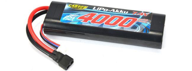 CARSON 500608145 LiPo Akku 4000mAh | 2S | 7.4V | 25C | T-Stecker