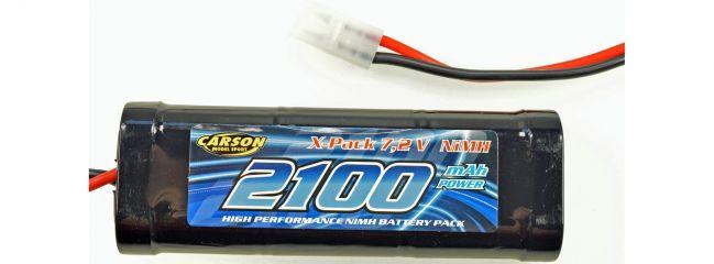 CARSON 500608158 Akku 2100mAh   NiMH   7.2V   TAMIYA-Stecker