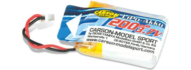 CARSON 500608165 LiPo Akku X4 Cage Copter 200mAh | 3.7V
