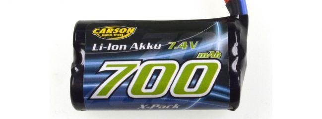 CARSON 500608172 Li-Ion Akku 700mAh | 7.4V | 2S | TAMIYA-Stecker