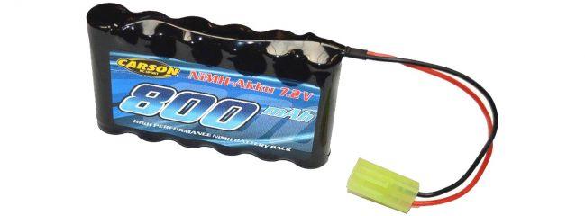 CARSON 500608176 Akku Racing Pack | 7,2 Volt | 800 mAh | NiMH | Mini TAMIYA-Stecker