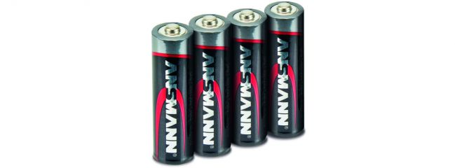 CARSON 500609043 ANSMANN Batterie Set | Mignon AA | 1,5 Volt | 4 Stück