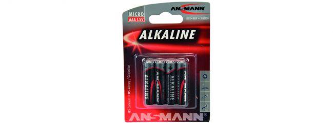 CARSON 500609044 ANSMANN Batterie Set Micro | AAA | 1,5 Volt | 4 Stück