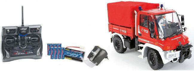 CARSON 500707109 RC MB UNIMOG U300 Feuerwehr 1:12 | RTR | 33617739
