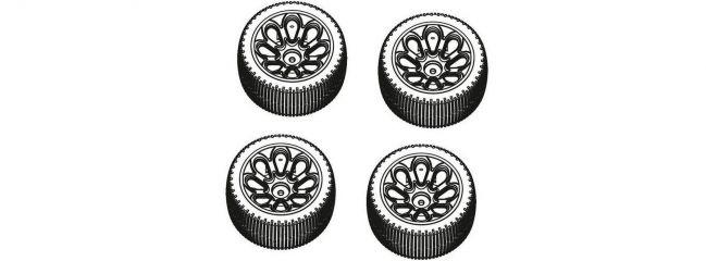 CARSON 500900105 X10 ET Rock Warrior Reifen-Set | 4 Stück