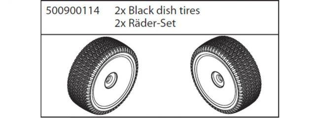 CARSON 500900114 X8 Specter Räder Set | 2 Stück