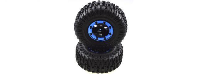 CARSON 500900126 X-Crawlee Pro Räder-Set | Inhalt: 2 Stück