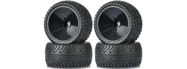 CARSON 500900143 Räder-Set Monster 4WD On-Road | Onroad 1:10