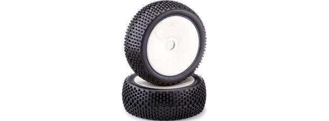 CARSON 500900726 Räder-Set 1/8 Offroad Dish Pin Pro | Inhalt: 2 Stück